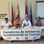 Plataforma de Bomberos del Ayuntamiento de Cuenca