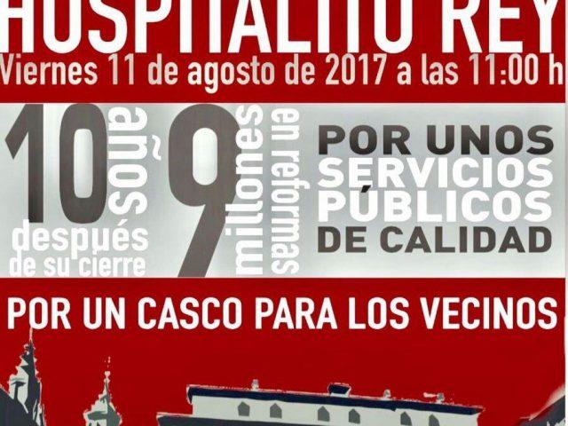 INAUGURACIÓN POPULAR DEL HOSPITALITO DEL REY.
