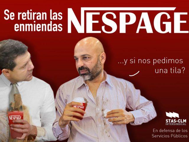 Retirada del Nespage
