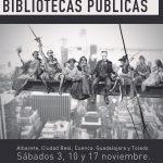 TODAS LAS BIBLIOTECAS DE LA JUNTA EN HUELGA.